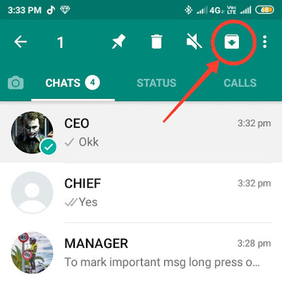 How to hide WhatsApp chats without deleting them