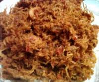 Abon Ayam merupakan variasi abon dengan penggunaan materi daging ayam sebagai materi utaman RESEP CARA MEMBUAT ABON AYAM ENAK