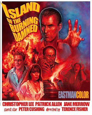 Island of the Burning Damned_Poster