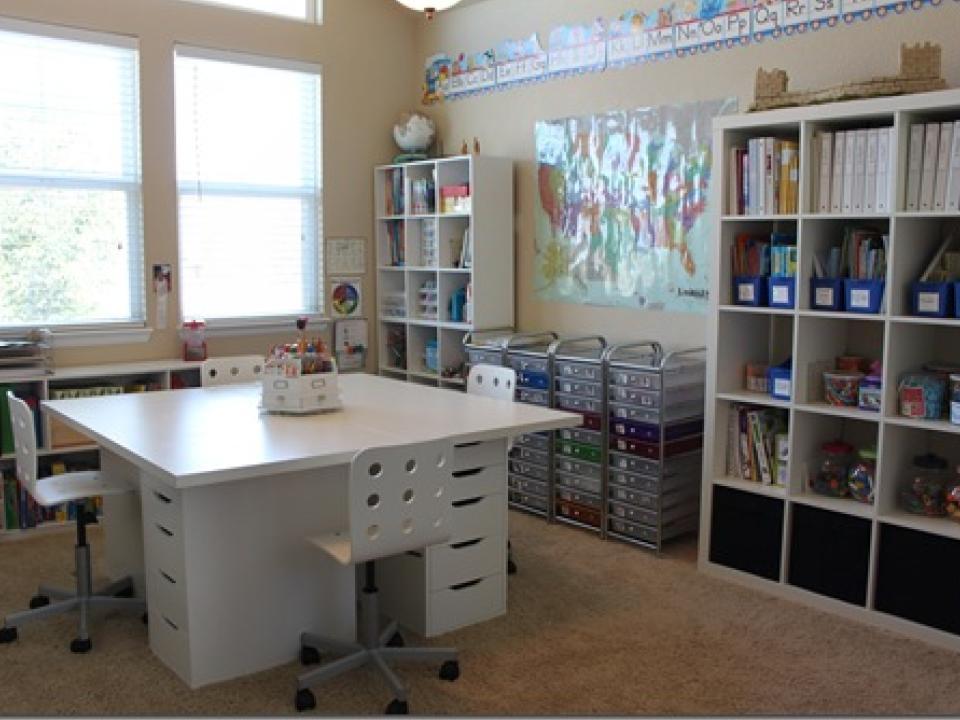 ikea inspired classroom diy