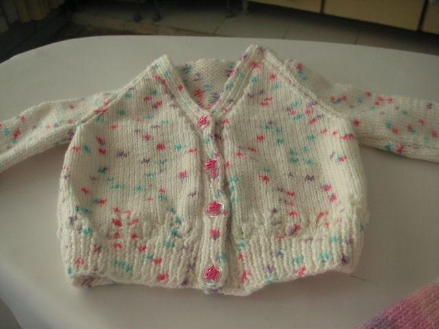 Knitting Galore Easy Baby Cardigan
