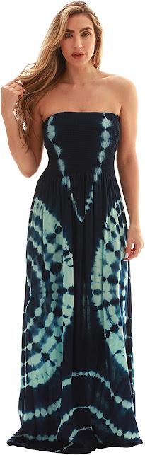 Best Quality Plus Size Strapless Maxi Dresses