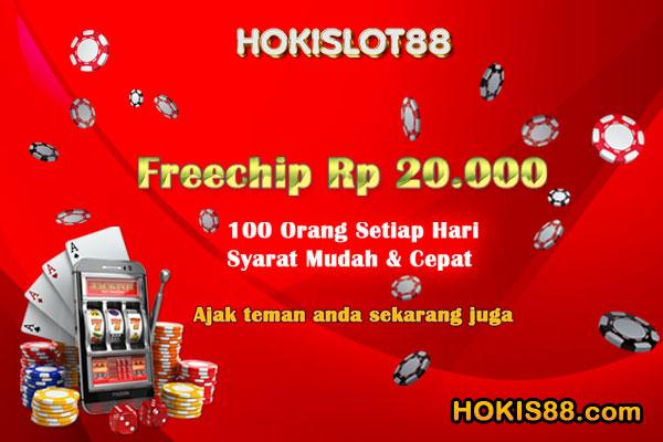 Hokislot88 Freebet Gratis Rp 20 000 Tanpa Deposit Bet Gratis