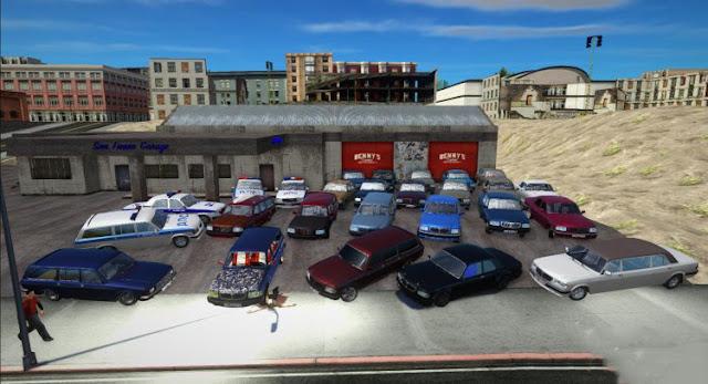 GTA San Andreas GAZ 3110 Cars Pack 2021