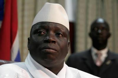 Gambia's ex-president, Yahya Jammeh