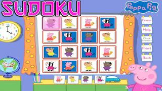 Peppa Pig Aprende Sudoku