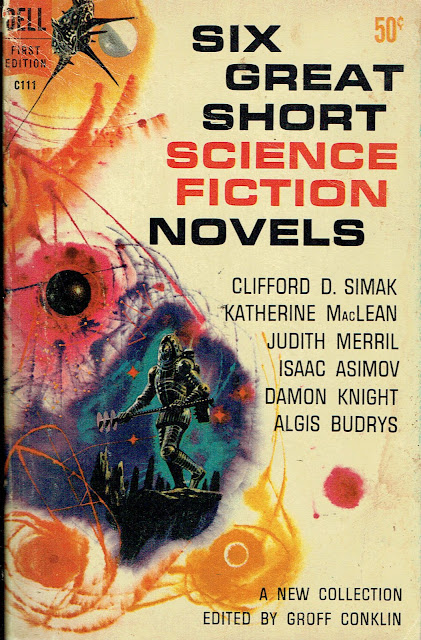 Six Great Science Fiction Novels Front Cover