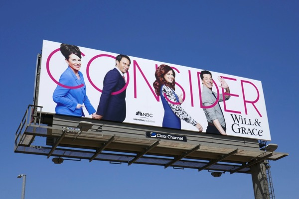 Consider Will Grace season 9 Emmy billboard