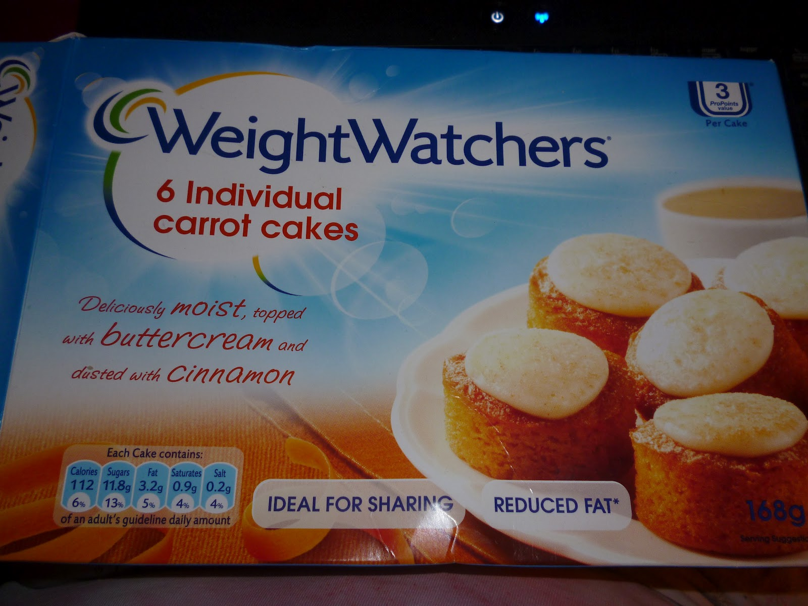 Weight Watchers Carrot Snack Cakes