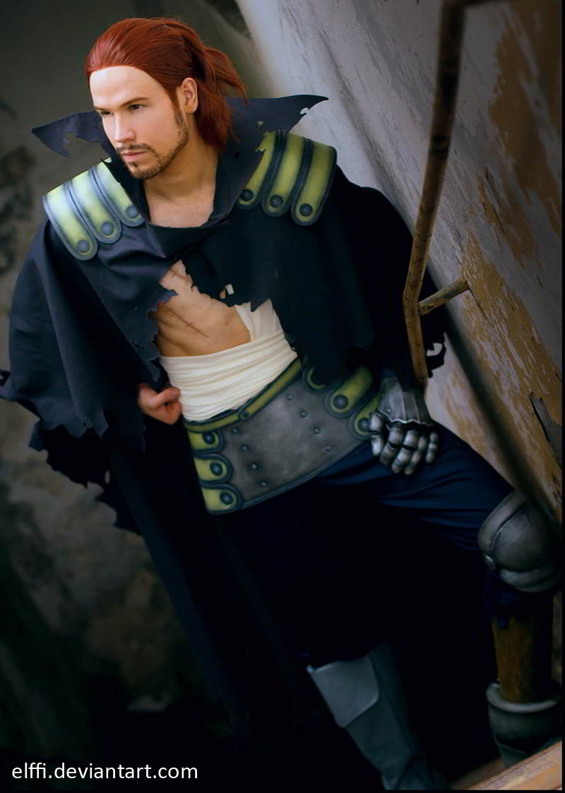 gildarts clive, fairy tail, cosplay
