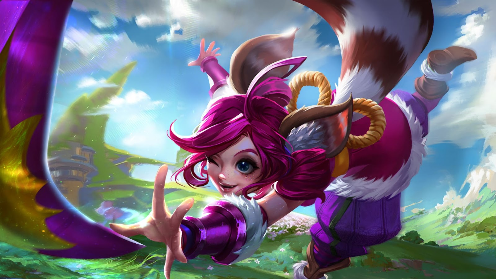 Wallpaper Nana Feline Wizard Skin Mobile Legends HD for PC