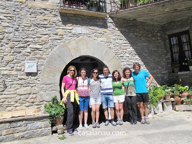 Jóvenes de Cantabria en Casa Lanau