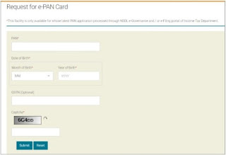 How to download electronic PAN card free