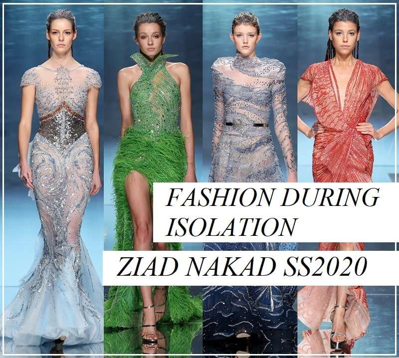 Ziad Nakad Couture Spring Summer 2020