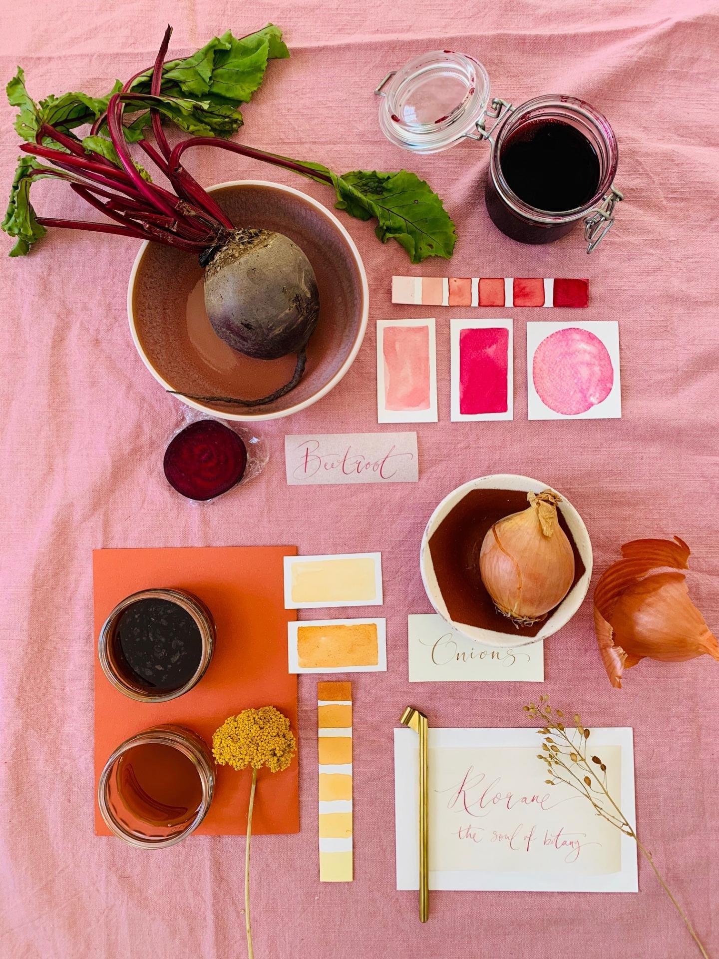 Cómo teñir telas con tintes naturales ¡Tintes 100% ecológicos!_10