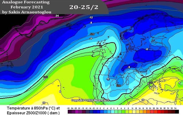 Αρναούτογλου: Δεν έχει πει την τελευταία του λέξη ο Χειμώνας - Έρχεται ακραίο ψύχος μετά τις 15 Φλεβάρη