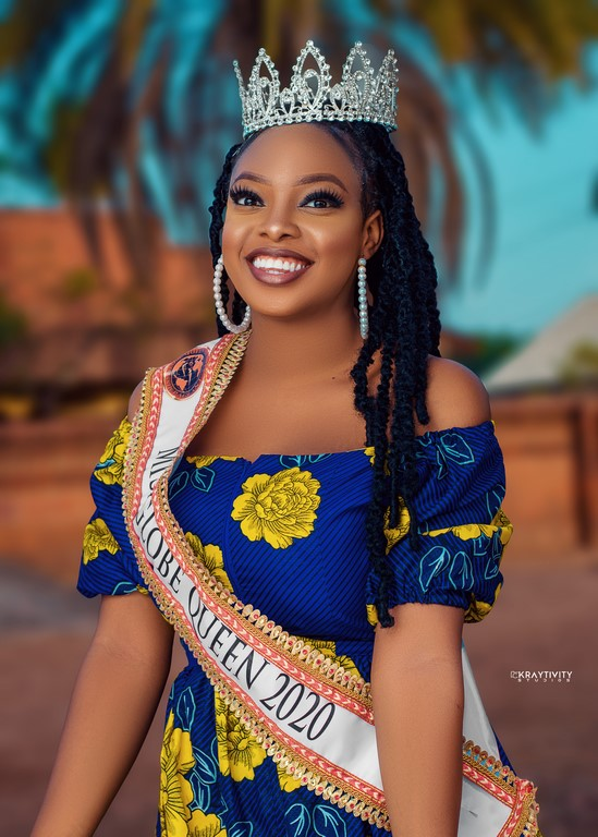 Miss Globe Queen 2020 Christiana Olusegun releases new stunning photos