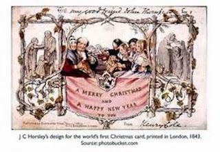 First Christmas Card - J.C. Horsley, 1843