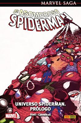 Reseña de Marvel Saga. El Asombroso Spiderman 47 y 48 - Universo Spiderman de Dan Slott - Panini Comics