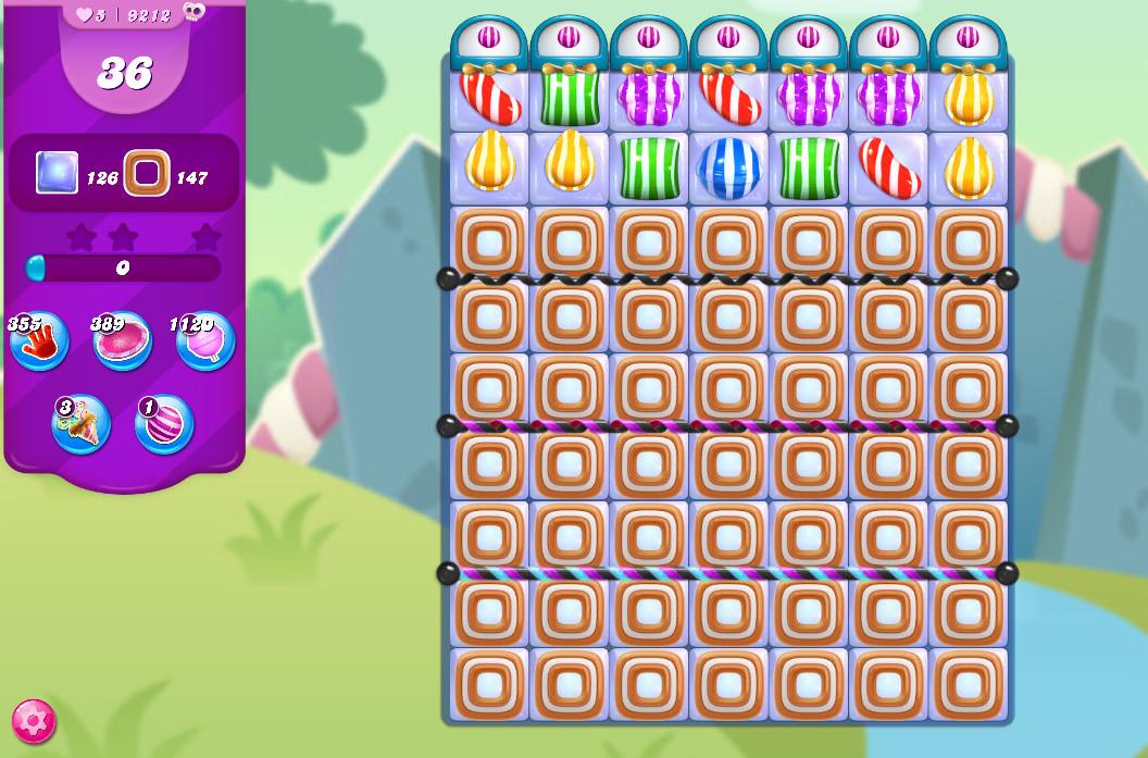 Candy Crush Saga level 9212