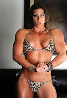 Female bodybuilding Being biceps