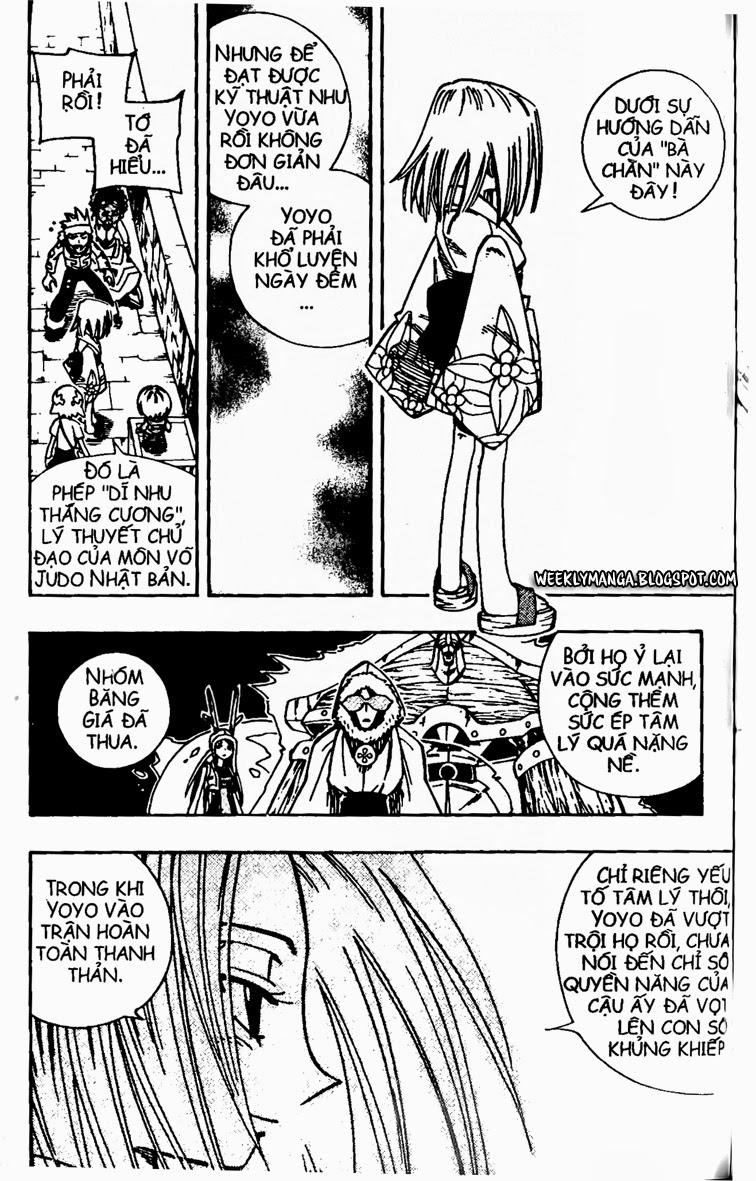 Shaman King [Vua pháp thuật] chap 133 trang 18