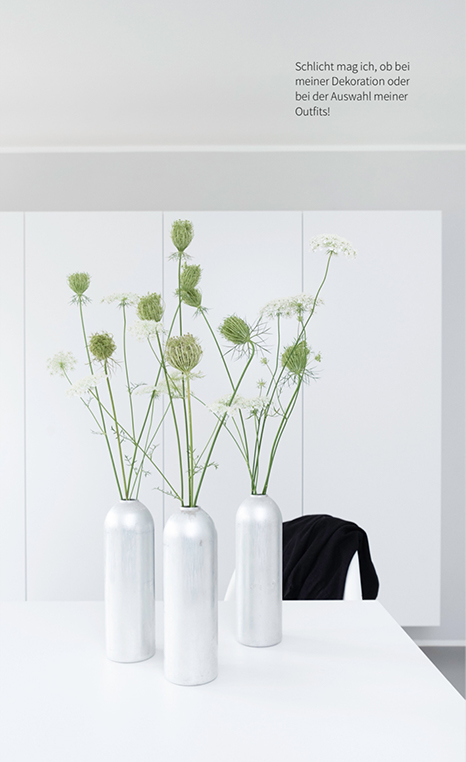 Dekoration mit Wilder Möhre - meine Dekotipps findest du im MINIMALmagazin