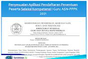 Penyesuaian Aplikasi Pendaftaran Penentuan Peserta Seleksi Kompetensi I Guru ASN-PPPK 2021