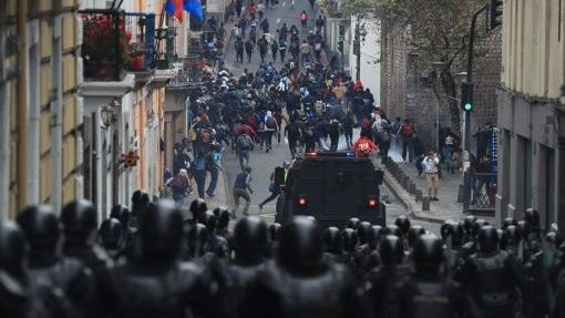 Reformas económicas de Lenín Moreno desatan protestas en Ecuador