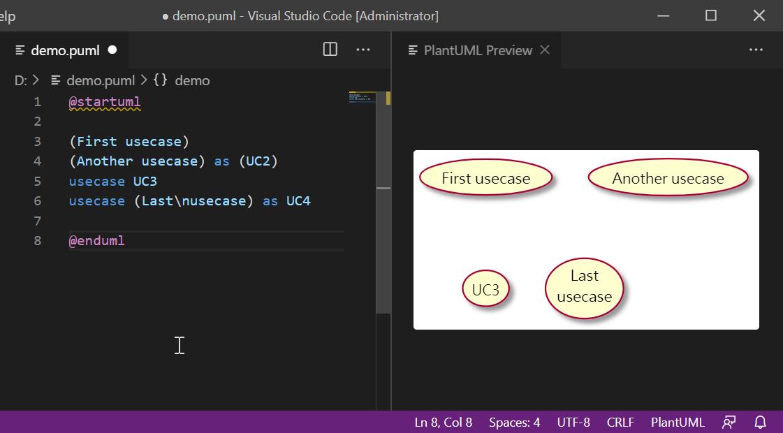 VisualStudio PlantUML - 在 Visual Studio Code 繪製 UML 圖 ...