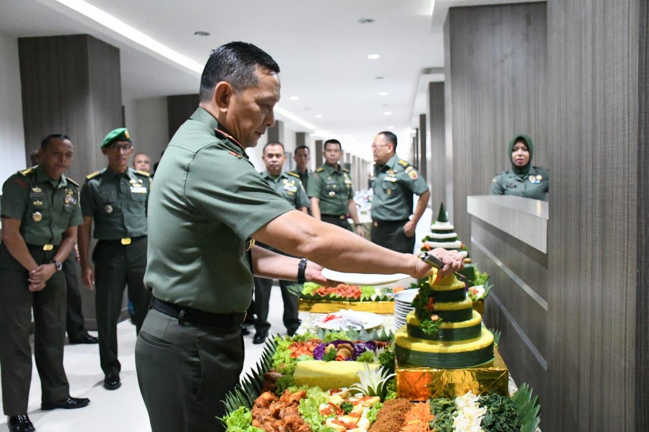 Pangdam I/BB Mayjen TNI MS Fadhilah Meresmikan Kantor Baru Makodam I/BB