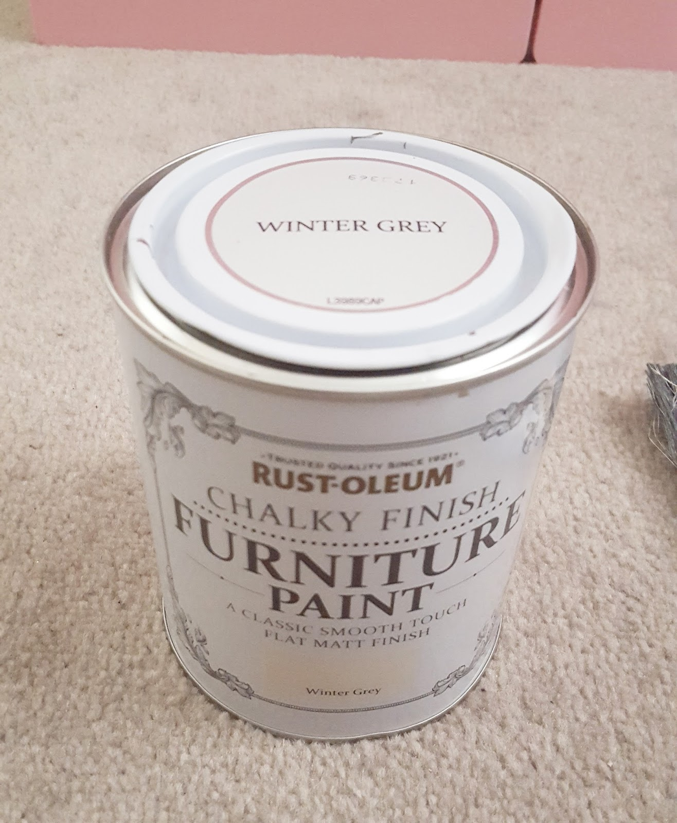Winter Grey Chalk Paint