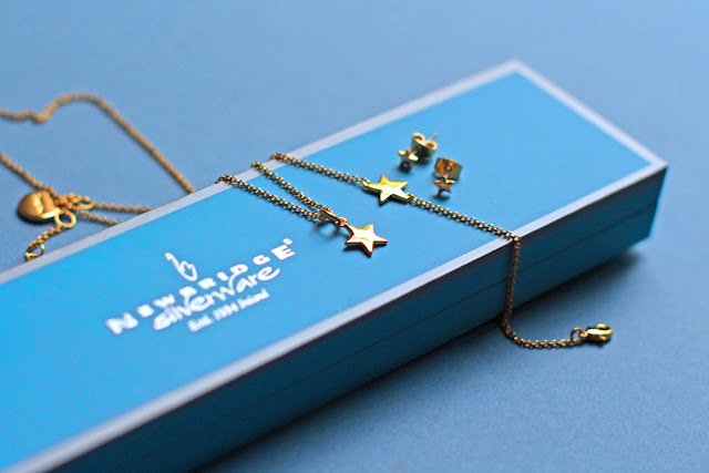 Newbridge Silverware gold star jewellery by Amy Huberman - UK style blog