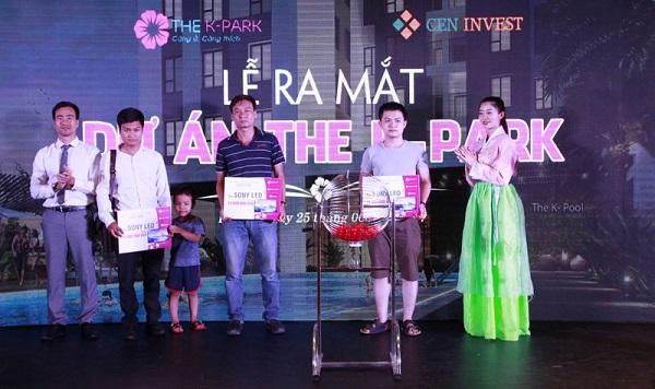 Lễ mở bán căn hộ The K-Park lần đầu tiên với nhiều chương trình hấp dẫn