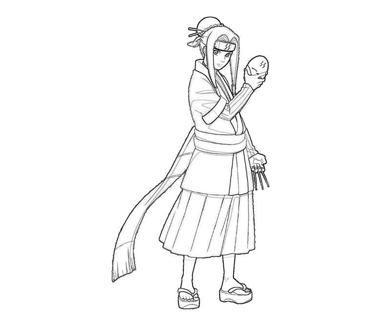Naruto Haku Character Surfing