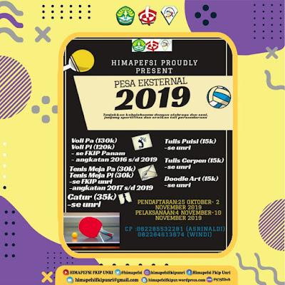 HIMAPEFSI Mempersembahkan Pesa Eksternal 2019