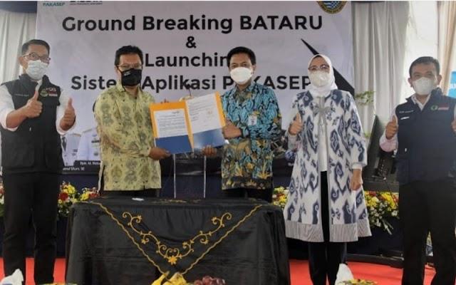 Bupati Purwakarta Laporkan Kabar Bahagia ke Ridwan Kamil Saat Ground Breaking BATARU
