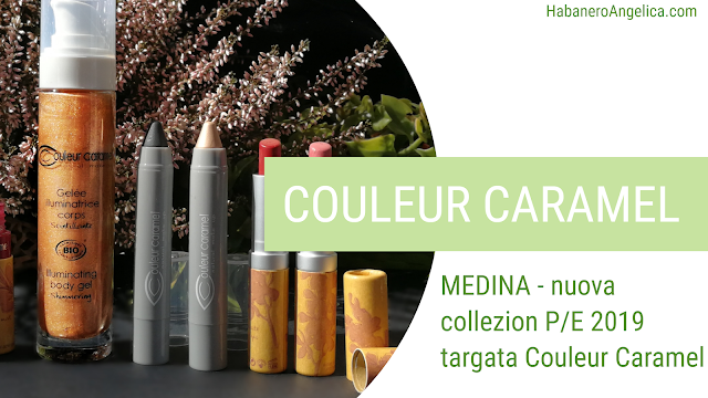 Nuova collezione make-up Couleur Caramel Medina Primavera estate 2019