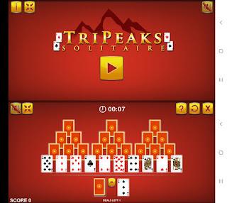 solitario tripeaks online