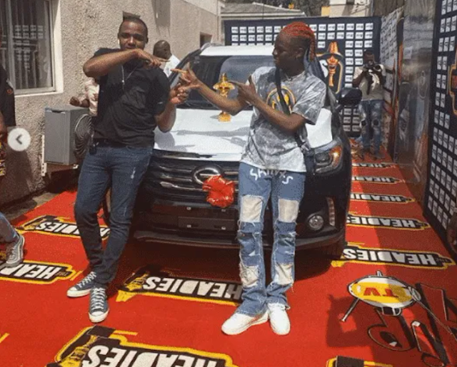 Rema picks up 2019 Headies 'Next Rated' SUV prize (Video)