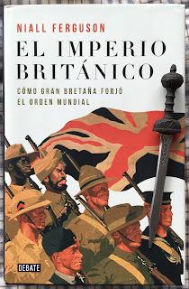 Portada del libro El imperio británico, de Niall Ferguson