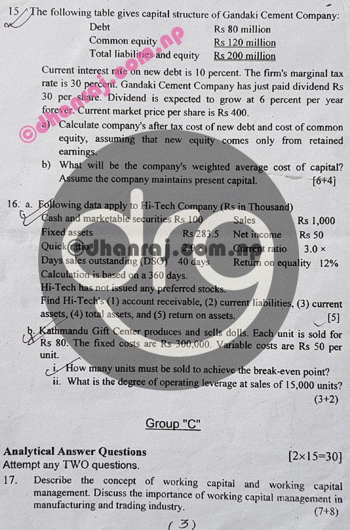 Fundamentals-of-Financial-Management-Mgt215-Question-Paper-2077-2021-BBS-Third-Year-Download-PDF