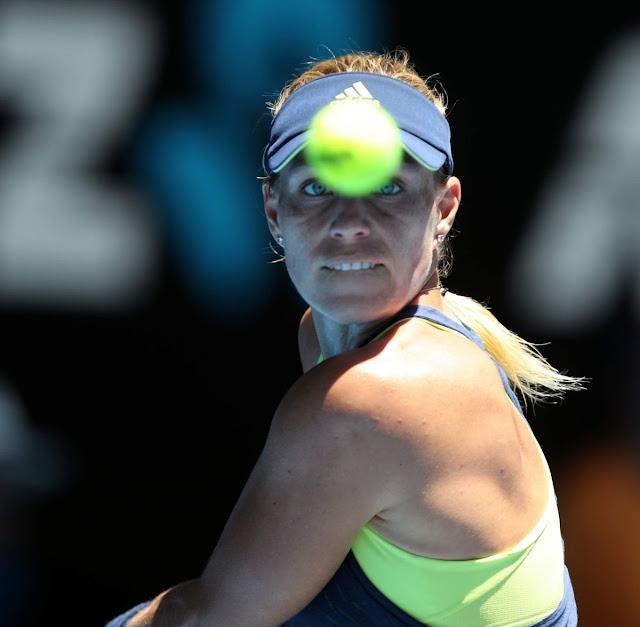 HD Photos of Angelique Kerber At Australian Open Tennis Tournament 2018 In Melbourne