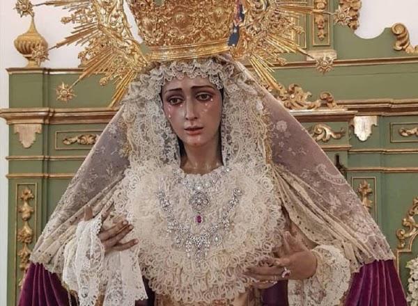 Horario e Itinerario Rosario vespertino con la Virgen del Dulce Nombre de Bellavista