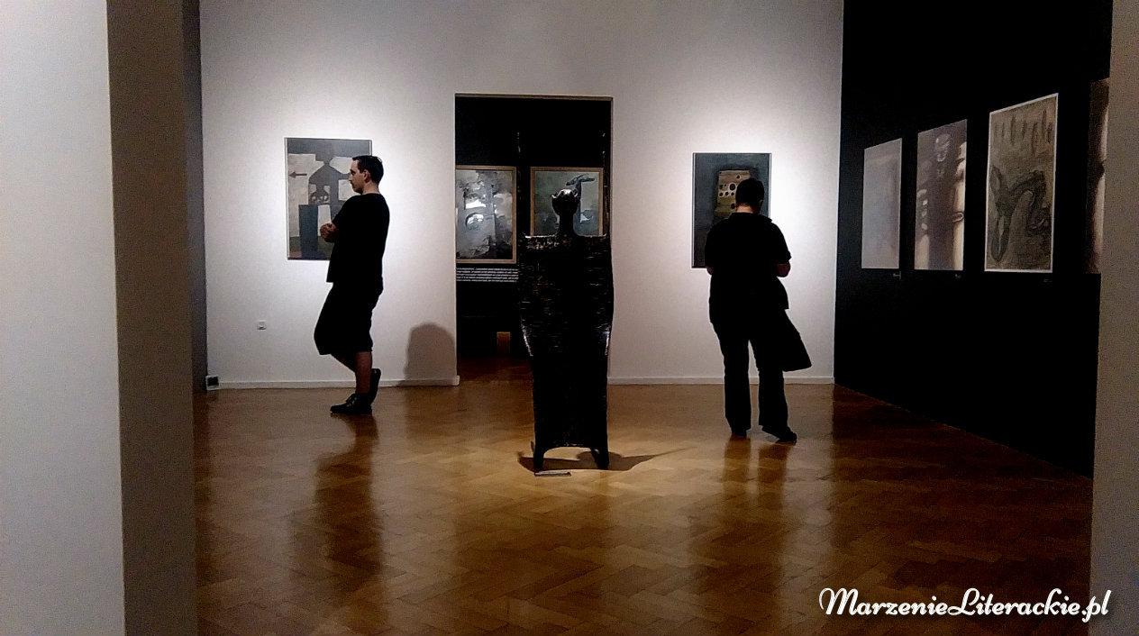 marzenie literackie, zdzisław beksiński, mroki podświadomości, obrazy