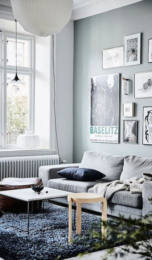 white scandinavian interior design