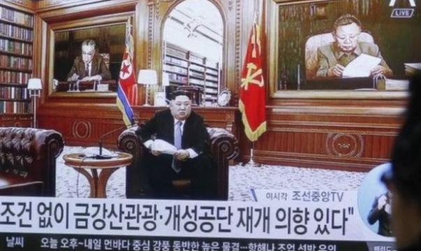 الزعيم الكوري كيم: ستتم إعادة  النظر في العقوبات.