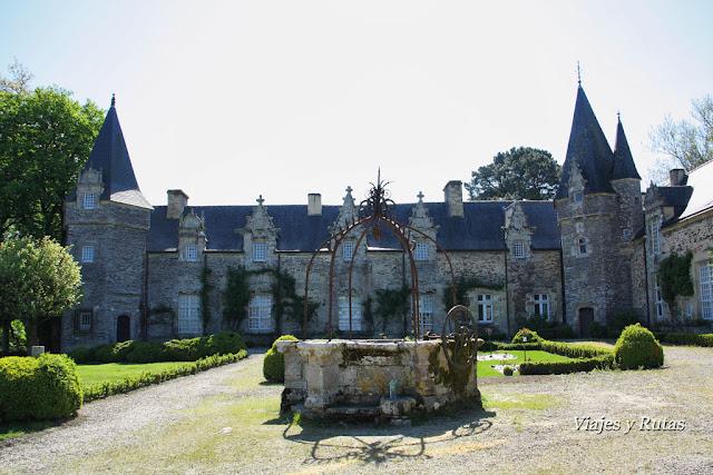 Castillo de Rochefort-en-Terre, Bretaña