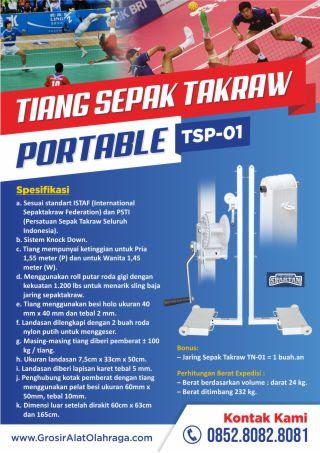 tiang sepak takraw portable tsp-01
