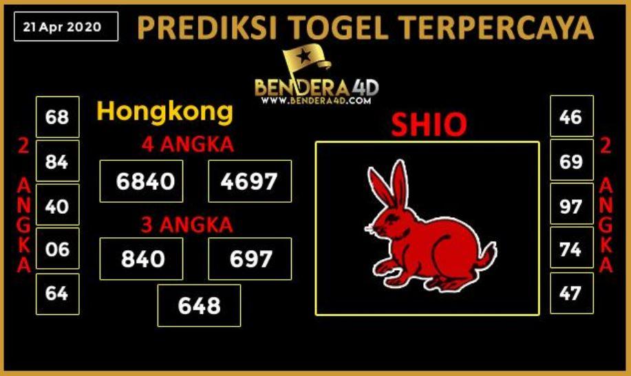 Prediksi Togel Hongkong 21 April 2020 - Prediksi Bendera4D